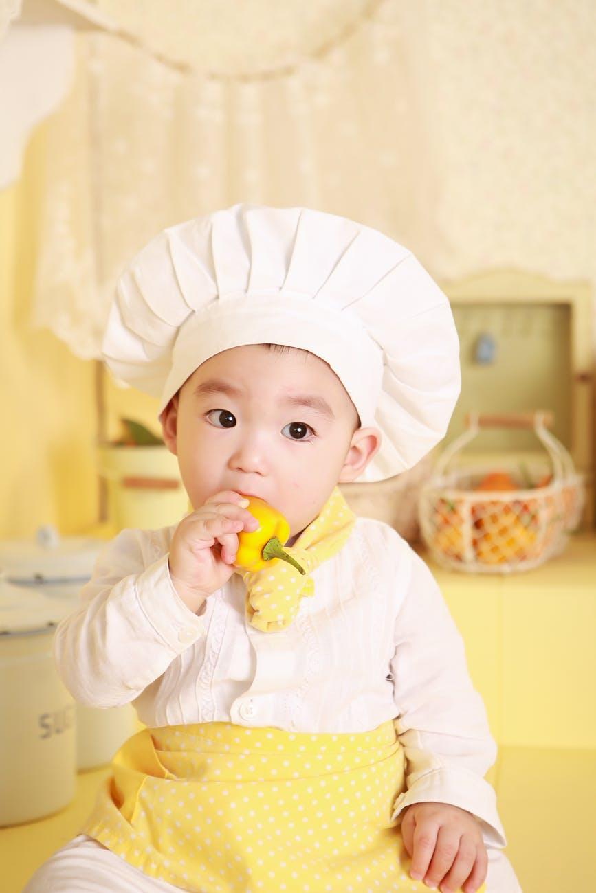 En liten og sjarmerende kokk